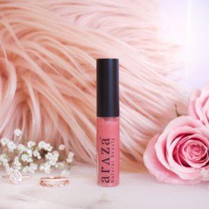 Araza Beauty Lipgloss in Sugar Poppy