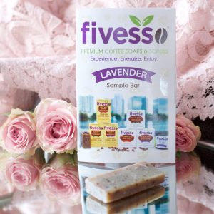 Fivesso Organic Mint Coffee Soap