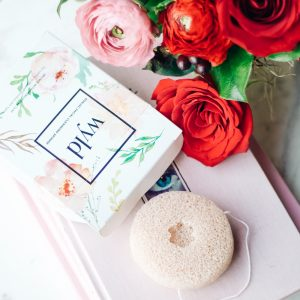 Wyld Konjac French Pink Clay Sponge